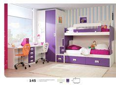 dormitorio juvenil con literas - Buscar con Google