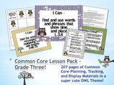 Common Core Organized Classroom