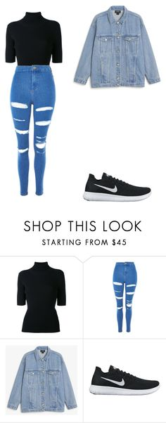 """""""casual"""" by ikatsamaki on Polyvore featuring Valentino, Topshop, Monki and NIKE"""