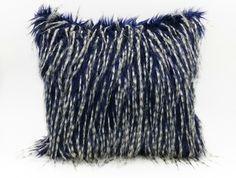 Designer Faux Fur Cushion Faux Fur, Teal, Cushions, Throw Pillows, Design, Toss Pillows, Toss Pillows, Pillows