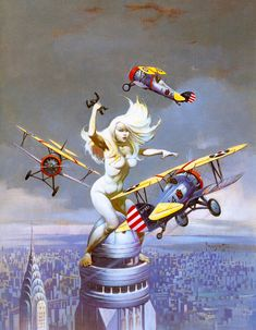 Queen Kong (date unknown) by Frank Frazetta