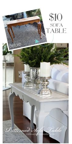 Hey there Hometalk Friends! Today I'm sharing the makeover of a sofa table as part of my March Madness, 31 Thrifty Makeovers in 31 Days Series. I found this at…