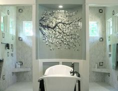 Traditional Bathroom : Homes Decoration, Fused Glass Pictures, Charlotte Kitchen Designers, Victoria & Albert Tubs  Japanese Style Bathroom ...