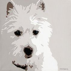 Pets Featured Images - Westie  by Slade Roberts