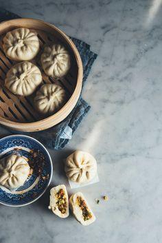 Vegetable Baozi (Vegan)