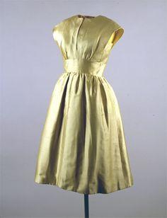 Designer: Gustave Tassell (American, b. 1926). 1962, Jackie Kennedy's dress