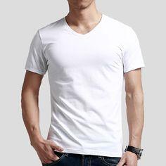 Venta al por mayor promocional hombre en blanco camiseta de la camisa, Su propio diseño logotipo de encargo, 100% algodón barato camiseta blanca-imagen-Camisetas-Identificación del producto:60037469472-spanish.alibaba.com
