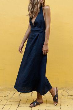 Vestidos de Lino: TOP Marcas para este 2019 - Nomadbubbles