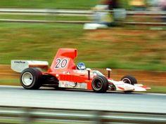 Gordon Johncock in Patrick Racing's Lola T332 HU44 at Road Atlanta in 1975.  © Russ Thompson 2002