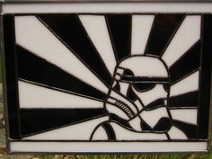 Star Wars Stained Glass   Star Wars Stormtrooper