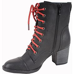 Perfect combat boot/heels!!! *w/ black laces instead :) Not in my size :/