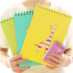 office and school stationery dear deer hard cover spiral notebook with color pages, View spiral notebook with color pages, Smart Product Details from Yiwu Smarte E-Commerce Firm on Alibaba.com