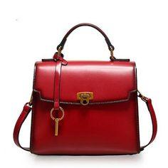 Overview: Design: Genuine Leather vintage handmade shoulder bag crossbody bag handbag In Stock: 3-5 days to process orders Include: Only Handbag Bag Custom: None Material: Cowhide Measures: 23cm x 19cm x 12cm Weight: 0.7kg (Package 1kg) Shipping: Post $18 (7-12 Days Arrive) / Express $30 (5-8 Days Arrive) Slots: