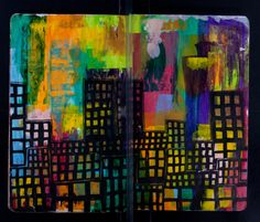 Blog by ArtHouse Coop showing some different Sketchbooks of the Sketchbookproject 2011