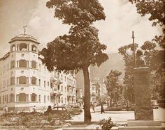 Av Vollmer y Plaza Rubén Darío El edif. de la izquierda era el Normandie. Fue demolido y hoy esta la Torre Normandie.
