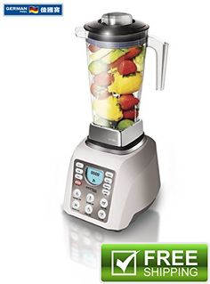 German Pool® 120V professional High-speed Spiral Vegetable Blender, Electric Chopper, Mixer, Food processor