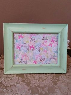 Check out this item in my Etsy shop https://www.etsy.com/listing/489146764/painted-and-distressed-mint-green