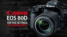 The Canon 80D is a fantastic camera, but it does not come set up optimized to produce the best photo, so I make some changes to the camera settings. Here are...