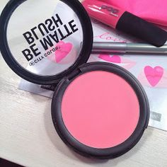 City Color Be Matte blush only $2.99 great quality and pigmentation! Received in my Feb 2014 Ipsy bag!