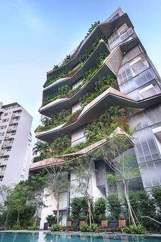 21 Green Building Architecture Concept The post 21 Green Building Architecture Concept appeared first on Baustil. Architecture Antique, Architecture Design, Singapore Architecture, Green Architecture, Concept Architecture, Facade Design, Futuristic Architecture, Sustainable Architecture, Residential Architecture