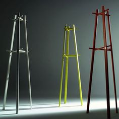 coloured coat stands
