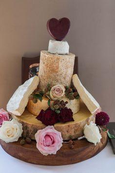 Wedding cake trends for 2017/18 | Cheese wedding cake with rose decor | bridemagazine.co.uk