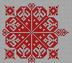 very big size romanian popular motifs pattern Beaded Embroidery, Cross Stitch Embroidery, Embroidery Patterns, Hand Embroidery, Crochet Patterns, Counted Cross Stitch Patterns, Cross Stitch Designs, Palestinian Embroidery, Celtic