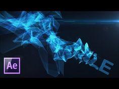 Делаем стильную заставку при помощи плагина Trapcode Mir. - YouTube