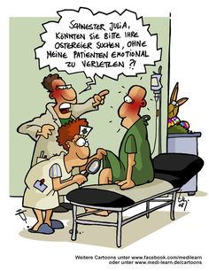 #medilearn #cartoon #ostern #ostereier #schwester #patient #comic #zeichentrick #medizin #mediziner #lustig #witzig
