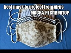 Sewing Hacks, Sewing Tutorials, Sewing Crafts, Sewing Projects, Easy Face Masks, Diy Face Mask, Diy Masque, Best Masks, Baby Sewing