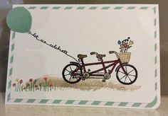 Stampin Up Pedal Pushers and Stampin Up Balloon Celebration