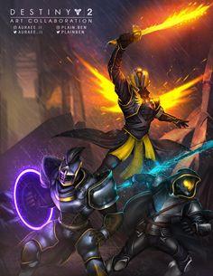 Destiny 2 Fireteam by PlainBen