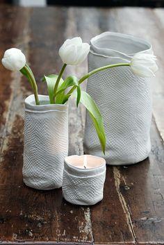Very nice... white vases