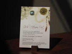 Jewelry Party Invitation