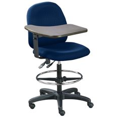 Laptop Stool with Tablet Arm - NBF Signature Series | National Business Furniture