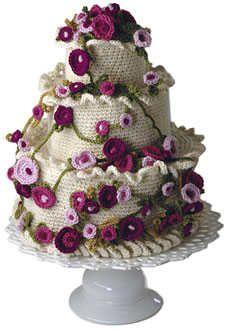 uncinetto torta nuziale