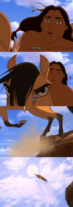 Spirit: Stallion of the Cimarron (Disney) (Dreamworks)