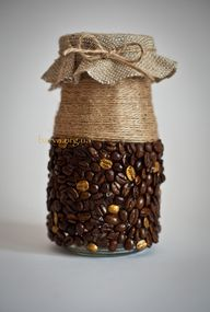 Coffee gift package - beans on the inside of course