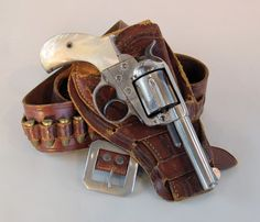 twippyfan:  Colt Thunderer .41 cal.4 inch barrel with a Mexican double loop holster. I wish these guns fired modern rounds.   Cimarron Arms makes very nice reproductions of these in modern calibers. I own a Thunderer in .357 magnum. Its one of my favorite guns. #twippyfan