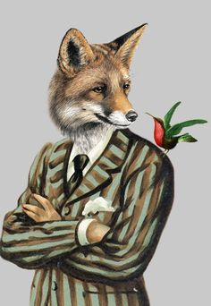 Coco de Paris | Fox with Bird