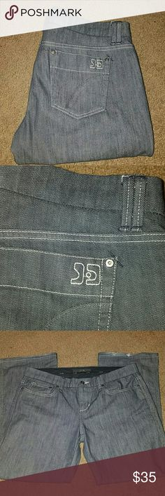 Joe's women's jeans Gray denim zipper front pocket Joe's Jeans Jeans Boyfriend