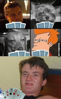 Always Remember Your Poker Face! - #funny, #lol, #fun, #humor, #meme, #gag, #lolpics, #funnypics,