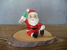 Vintage Santa Claus Candle Hugger Santa Figurine | Etsy Vintage Fall Decor, Vintage Birds, Vintage Santa Claus, Vintage Santas, Small Glass Jars, Santa Figurines, Owl Ornament, Holiday Candy, Handmade Christmas Decorations