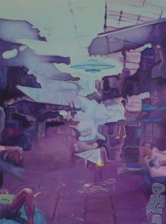"Saatchi Art Artist xie qian; Painting, ""我的棚棚"" #art- like the style of painting."