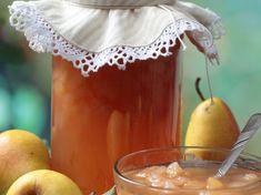 Confiture de poires aux noix et à la vanille Moscow Mule Mugs, Alcoholic Drinks, Fruit, Breakfast, Tableware, Kitchen, Recipes, Chutney, Food