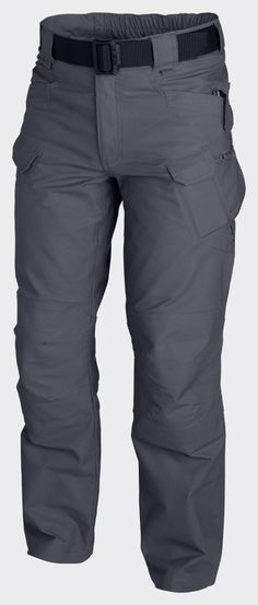 Helikon UTP Urban Tactical Pants Ripstop - Shadow Grey Designed for Law Enforcement operators Main bottom apparel from Urban Tactical Line®.