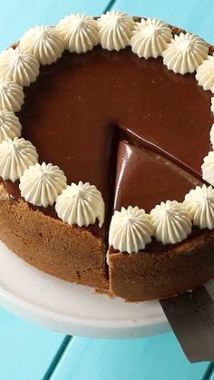Maple Caramel Cheesecake - New ideas Easy Cake Recipes, Baking Recipes, Sweet Recipes, Cookie Recipes, Dessert Recipes, Cookie Ideas, Cookie Desserts, Caramel Cheesecake, Cheesecake Recipes