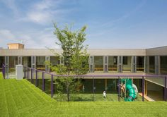 Galeria de Creche Infantil TAKENO / Tadashi Suga Architects - 11