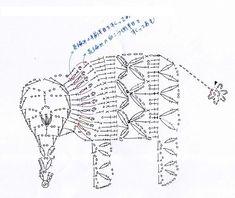 ORECCHINI BAMBOLA A CROCHET + SCHEMI ANIMALI 2D | Paciuga, Brega e Imbelina