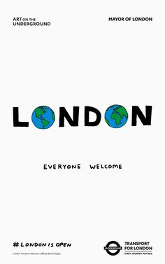 """part of """"London Is Open"""" campaign to promote diversity in the wake of Brexit."""